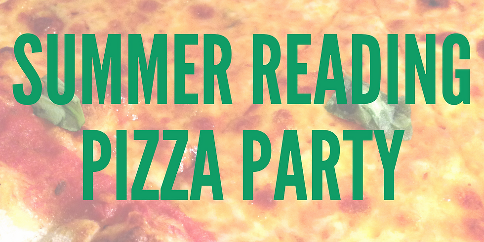 Summer Reading Pizza Party