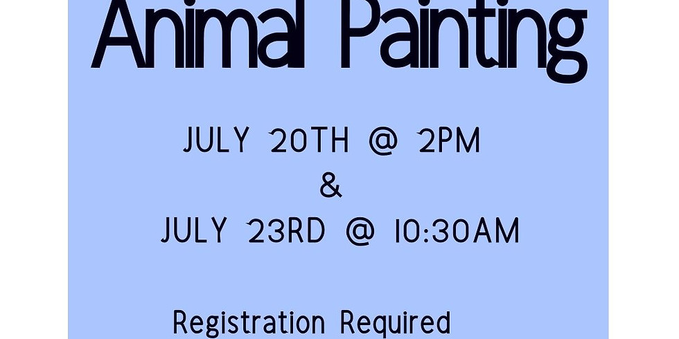 Animal Painting (July 23rd)