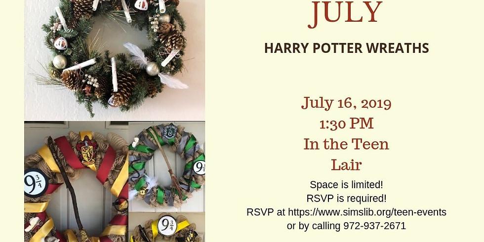 Teen Harry Potter Wreaths