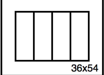 Rectangular Benchwork – 36 x 54