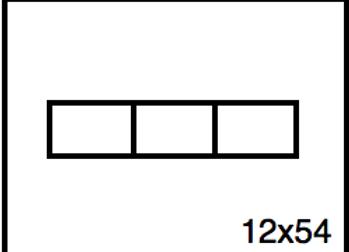 Rectangular Benchwork – 12 x 54