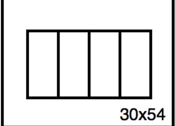 Rectangular Benchwork – 30 x 54