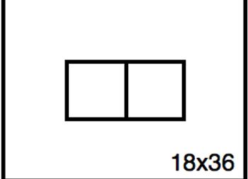 Rectangular Benchwork – 18 x 36