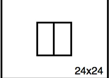 Rectangular Benchwork – 24 x 24