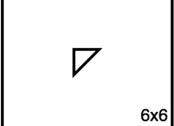 Triangular Benchwork – 06 x 06