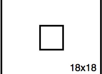 Rectangular Benchwork – 18 x 18