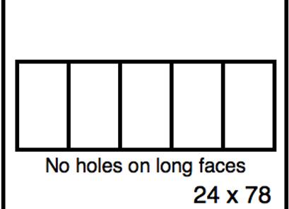 Rectangular Benchwork – 24 x 78