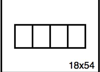 Rectangular Benchwork – 18 x 54