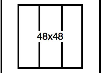 Rectangular Benchwork – 48 x 48