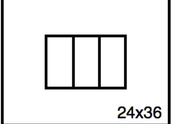 Rectangular Benchwork – 24 x 36