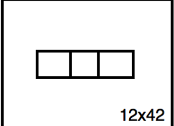 Rectangular Benchwork – 12 x 42