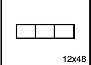 Rectangular Benchwork – 12 x 48