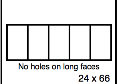 Rectangular Benchwork – 24 x 66