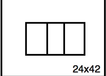 Rectangular Benchwork – 24 x 42