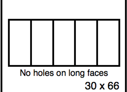 Rectangular Benchwork – 30 x 66