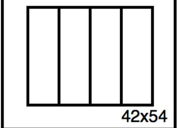 Rectangular Benchwork – 42 x 54