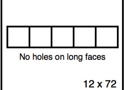 Rectangular Benchwork – 12 x 72