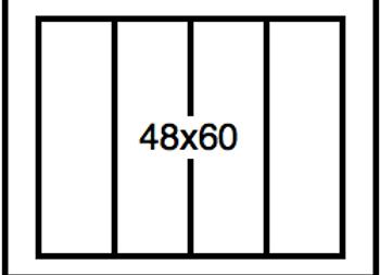 Rectangular Benchwork – 48 x 60