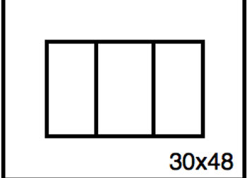 Rectangular Benchwork – 30 x 48