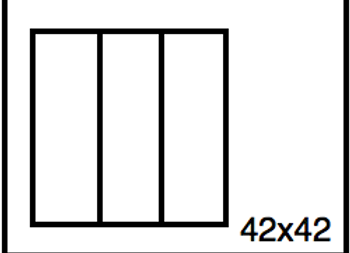 Rectangular Benchwork – 42 x 42