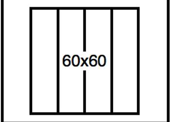 Rectangular Benchwork – 60 x 60