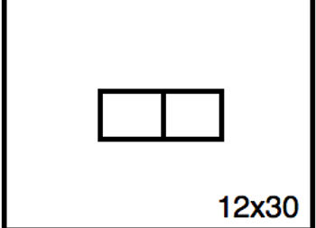 Rectangular Benchwork – 12 x 30
