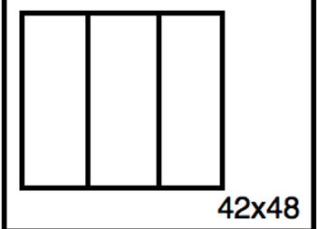 Rectangular Benchwork – 42 x 48