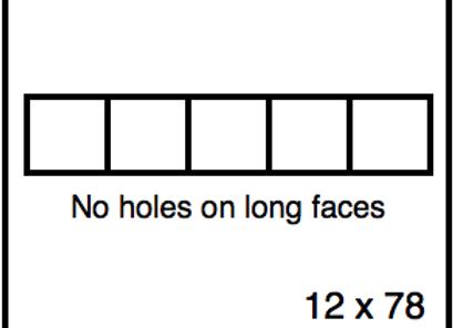 Rectangular Benchwork – 12 x 78