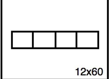 Rectangular Benchwork – 12 x 60