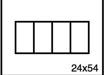 Rectangular Benchwork – 24 x 54