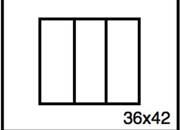 Rectangular Benchwork – 36 x 42