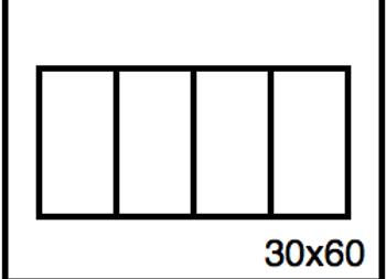 Rectangular Benchwork – 30 x 60