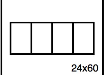 Rectangular Benchwork – 24 x 60