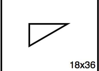 Triangular Benchwork – 18 x 36