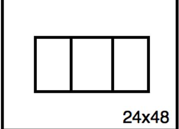 Rectangular Benchwork – 24 x 48