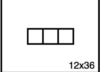 Rectangular Benchwork – 12 x 36