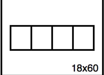 Rectangular Benchwork – 18 x 60