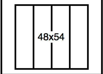Rectangular Benchwork – 48 x 54