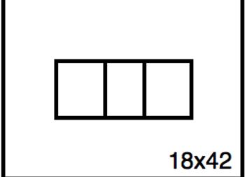 Rectangular Benchwork – 18 x 42