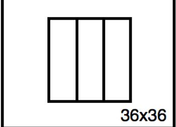 Rectangular Benchwork – 36 x 36