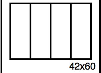 Rectangular Benchwork – 42 x 60