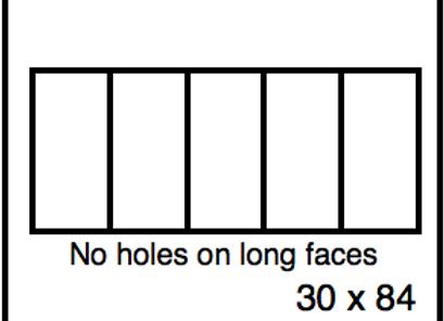 Rectangular Benchwork – 30 x 84