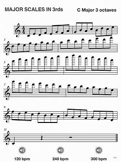 flute scales