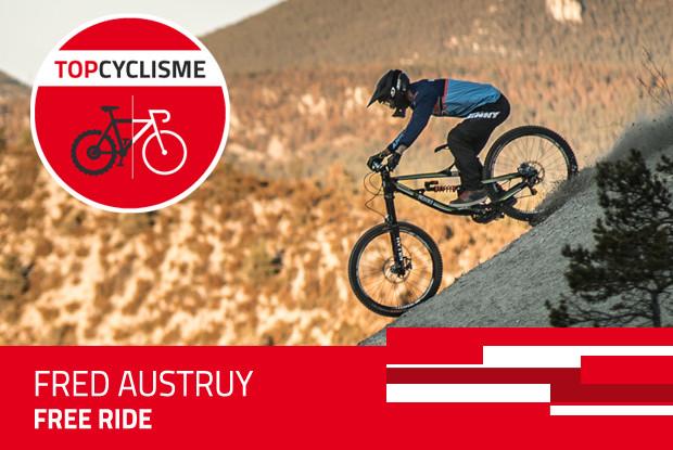 Pour Fred Austruy le vélo est un show.