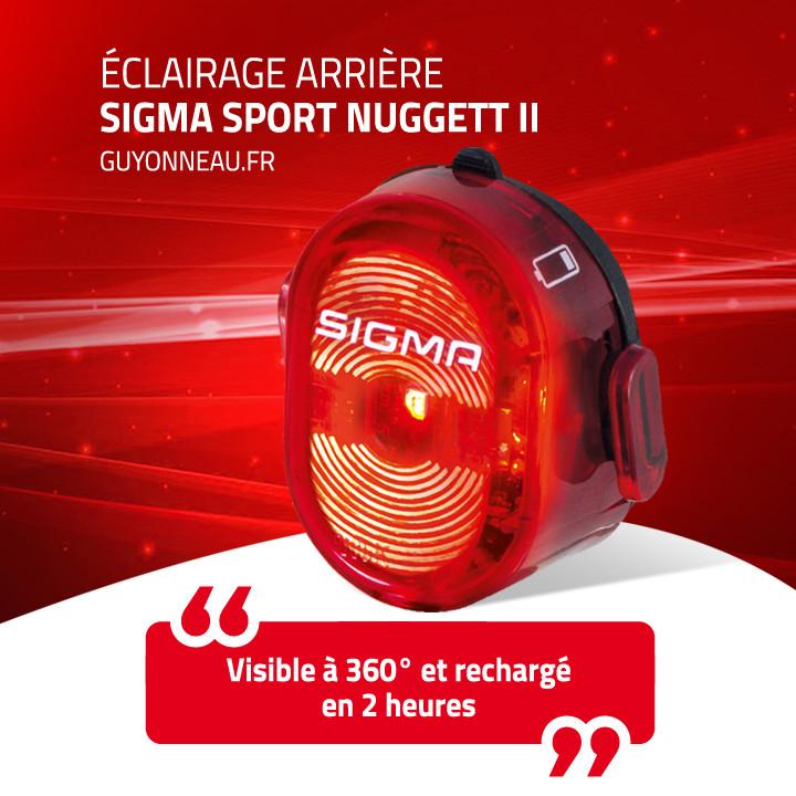 Sigma Sport éclairage Nugett II