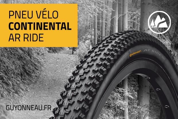 """Continental AT Ride, le pneu """"dur à cuire"""""""