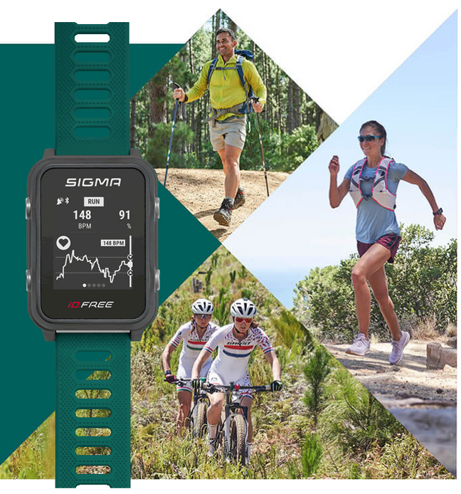 Nouvelle montre cardio GPS SIGMA iD.FREE