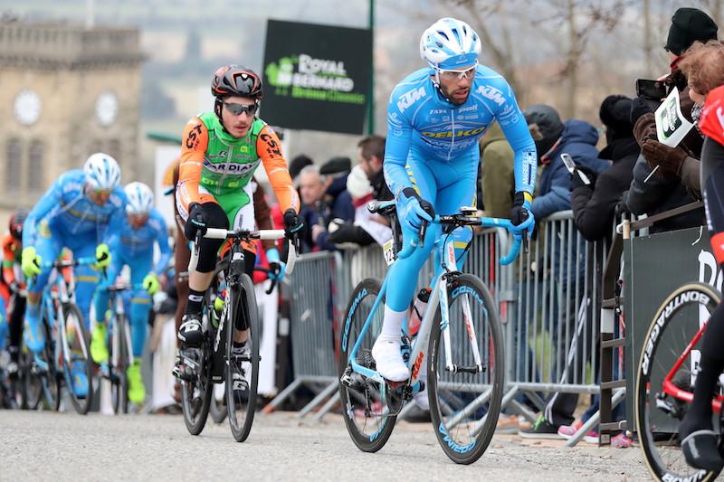 Julien El Fares en course