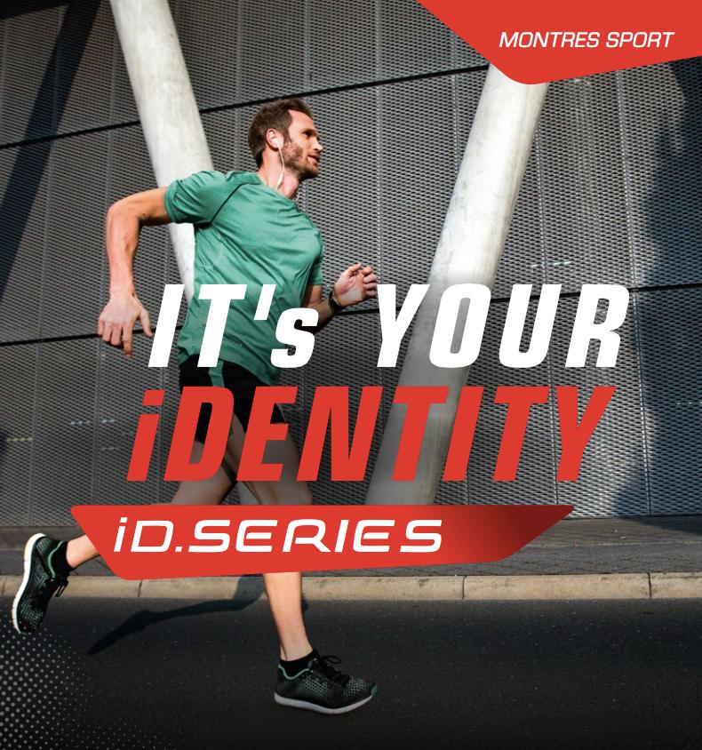La nouvelle gamme de montres sport Sigma iD.RUN