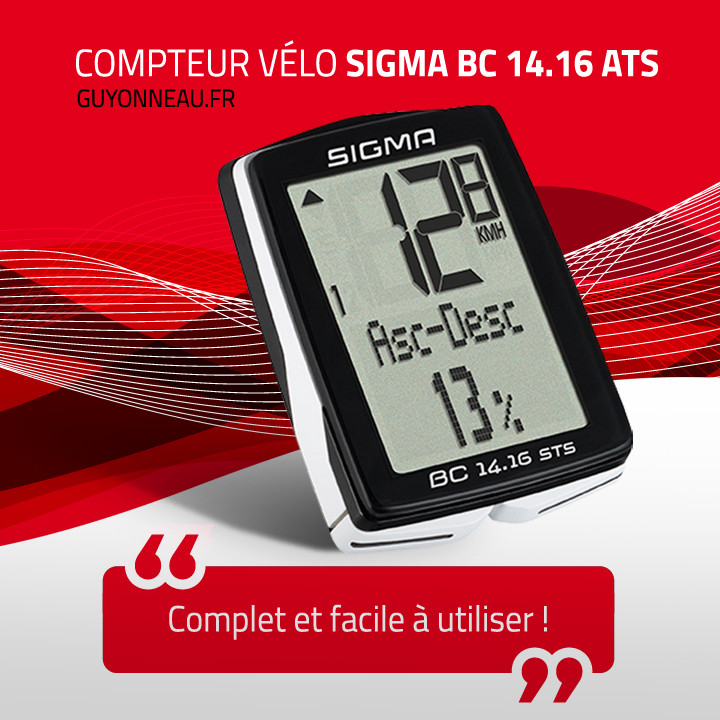 compteur Sigma BC 14.16 STS